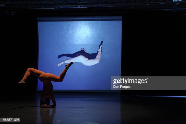 Jerusalem Academy of Music and Dance dance student Or Ashkenazi performs a modern piece which she created and choreographed during the JAMD's annual...