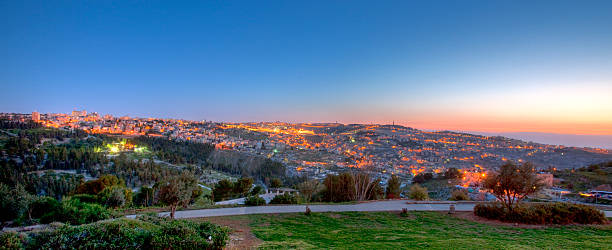Jerusalem at sunrise