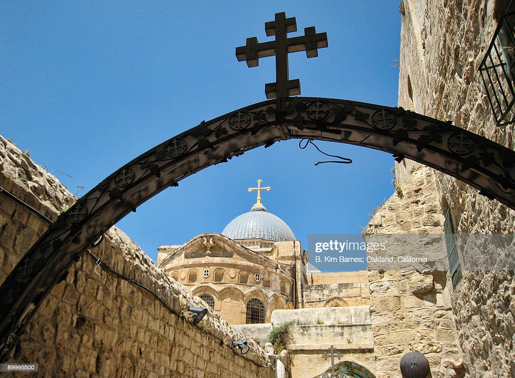 Jerusalem church : Stock Photo