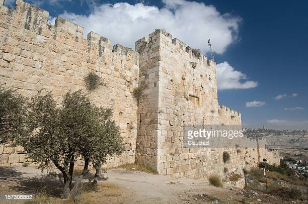 Jerusalem city walls