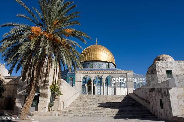 エルサレム、岩のドーム、歴史あるパレスチナ