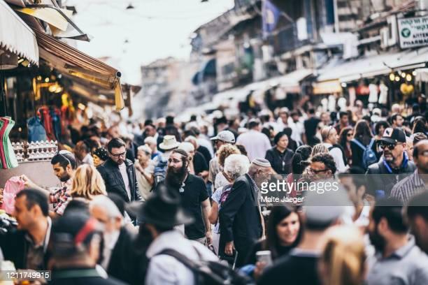 jerusalem eats mahane yehuda market. - jerusalem stock-fotos und bilder