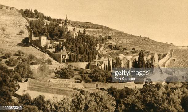 Jerusalem Gethsemane' circa 1918circa 1939 From an album of postcards Artist Unknown