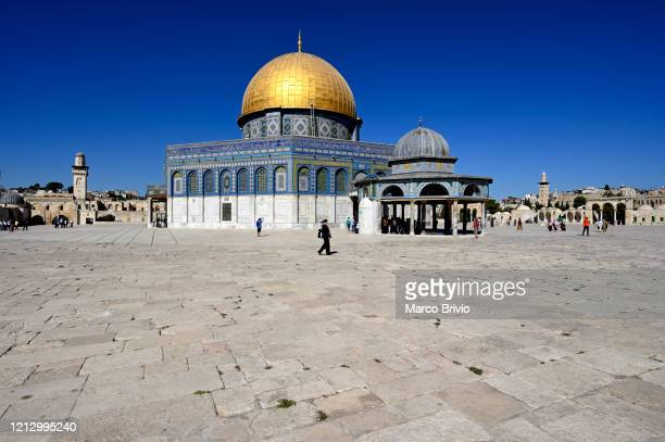jerusalem israel. dome of the rock - al aqsa mosque stock pictures, royalty-free photos & images