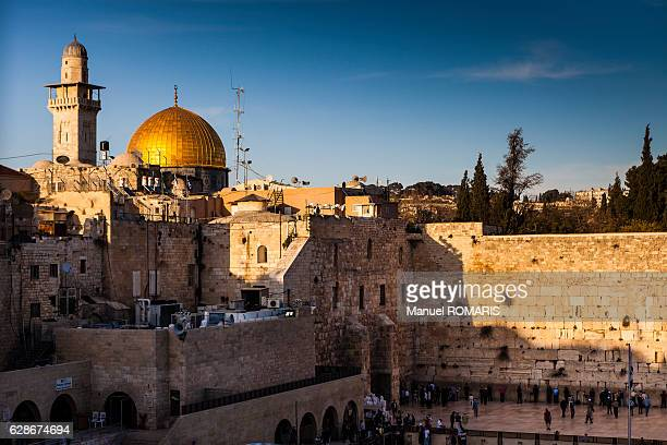 jerusalem old city - dome of the rock stock pictures, royalty-free photos & images