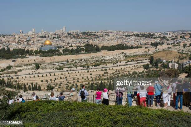 jerusalem - mount of olives stock pictures, royalty-free photos & images