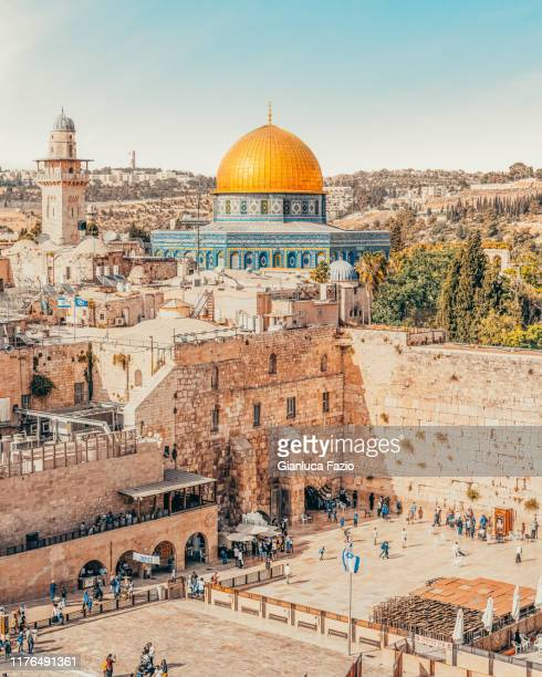 jerusalem - gerusalemme foto e immagini stock