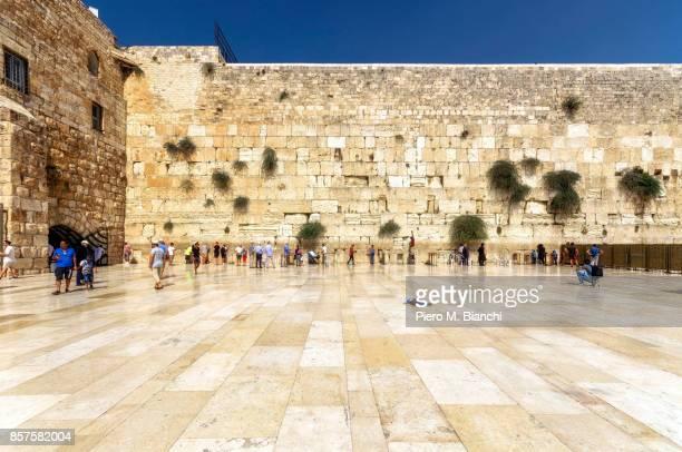 jerusalem - muro de las lamentaciones fotografías e imágenes de stock