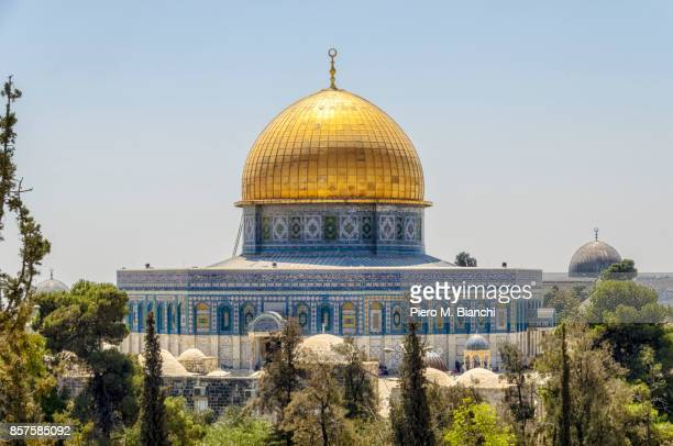 jerusalem - dome of the rock stock pictures, royalty-free photos & images