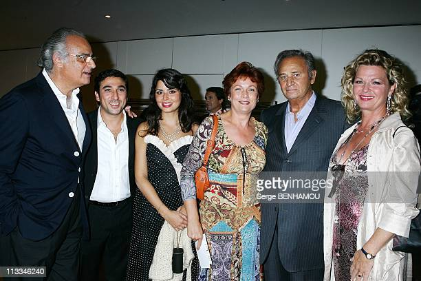 Jerusalem Premiere In Paris - On September 26Th, 2006 - In Paris, France - Here, Andre Djaoui Bernard Bitan And His Friend Shirel Roger Hanin And...