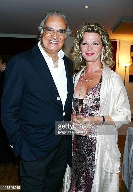 Jerusalem Premiere In Paris - On September 26Th, 2006 - In Paris, France - Here, Andre Djaoui And Jeane Manson