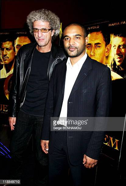 Jerusalem' Premiere - On October 16Th, 2006 In Paris, France - Here, Elie Chouraqui And Dominique Sopo, Sos Racisme