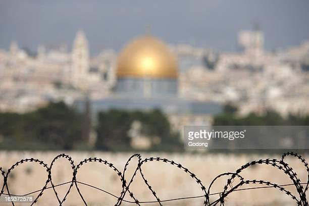 Jerusalem seen from Dominus Flevit