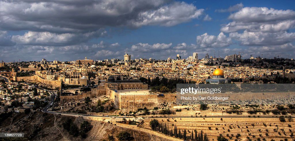 Jerusalem view : Stock Photo