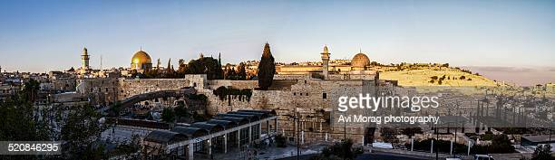 Jerusalem's old city panorama