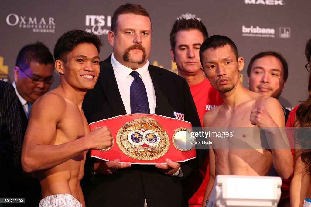 Jeff Horn v Manny Pacquiao Weigh In : ニュース写真