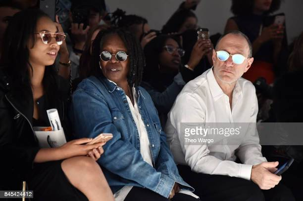 Jerzey Dean and Whoopi Goldberg attend Vivienne Hu fashion show during New York Fashion Week The Shows at Gallery 3 Skylight Clarkson Sq on September...
