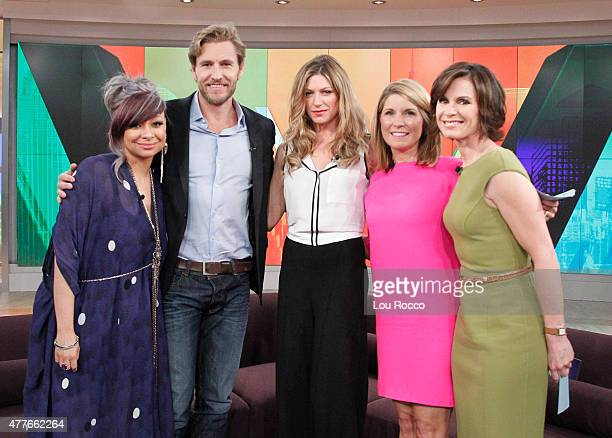 THE VIEW Jes Macallan and Brett Tucker of Mistresses visit THE VIEW 6/18/15 airing on the Walt Disney Television via Getty Images Television Network...