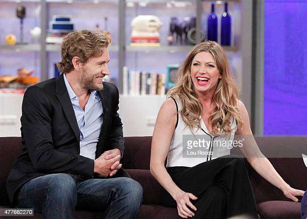 THE VIEW Jes Macallan and Brett Tucker of Mistresses visit THE VIEW 6/18/15 airing on the Walt Disney Television via Getty Images Television Network