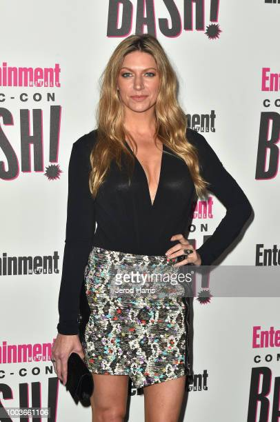 Jes Macallan attends Entertainment Weekly's ComicCon Bash held at FLOAT Hard Rock Hotel San Diego on July 21 2018 in San Diego California sponsored...