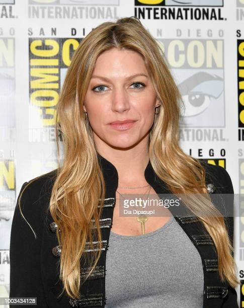 Jes Macallan attends the 'DC's Legends Of Tomorrow' Press Line during ComicCon International 2018 at Hilton Bayfront on July 21 2018 in San Diego...