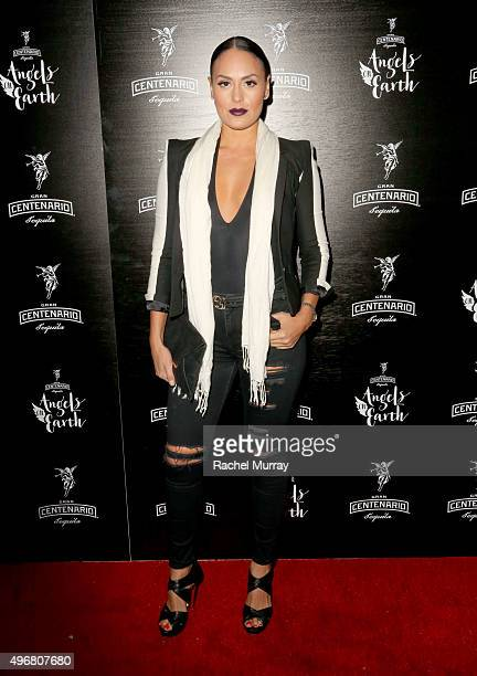 Jes Meza attends Gran Centenario Tequila presents Angels On Earth at the Sunset Tower on November 11 2015 in West Hollywood California