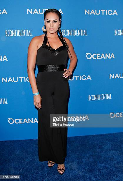 Jes Meza attends the 3rd annual Nautica Oceana beach house party at Marion Davies Guest House on May 8 2015 in Santa Monica California