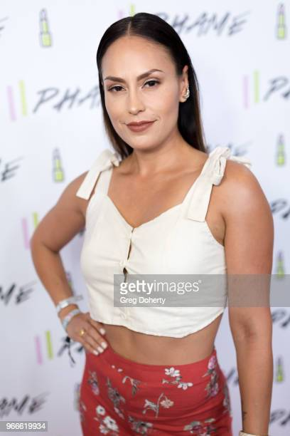 Jes Meza attends the PHAME Expo 2018 on June 2 2018 in Los Angeles California
