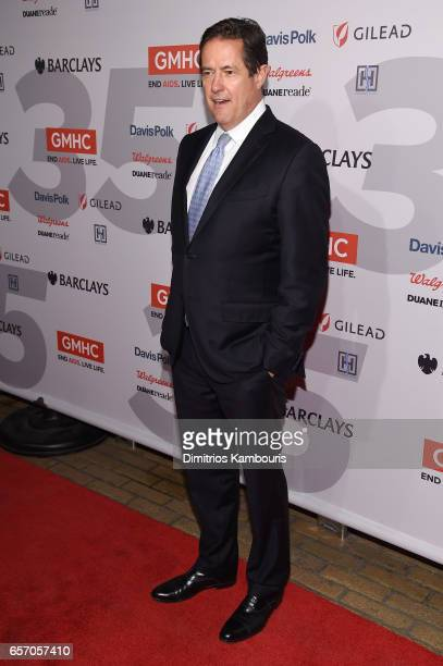 Jes Staley attends the GMHC 35th Anniversary Spring Gala at Highline Stages on March 23 2017 in New York City