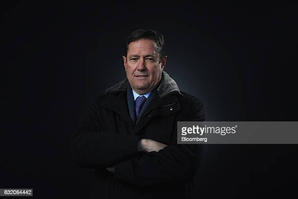 Jes Staley, chief executive officer of Barclays Plc, poses for a photograph following a Bloomberg Television interview at the World Economic Forum in...