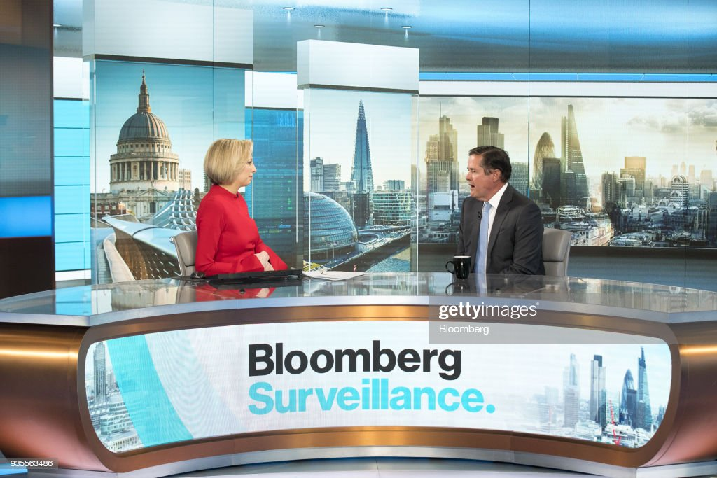 Barclays Plc Chief Executive Officer Jes Staley Interview : News Photo
