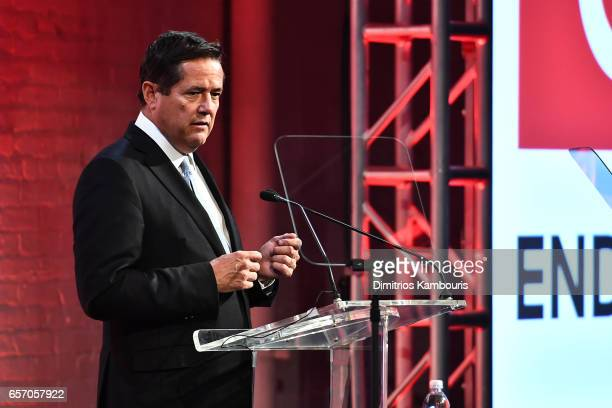 Jes Staley speaks onstage at the GMHC 35th Anniversary Spring Gala at Highline Stages on March 23 2017 in New York City