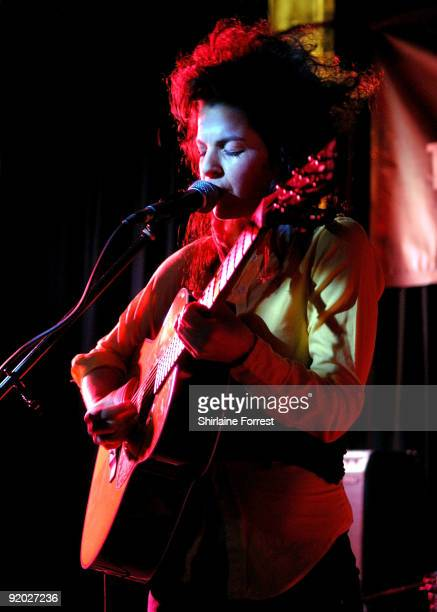 Jesca Hoop performs at Electric Boogaloo on Day 1 of 'In The City' on October 19 2009 in Manchester England