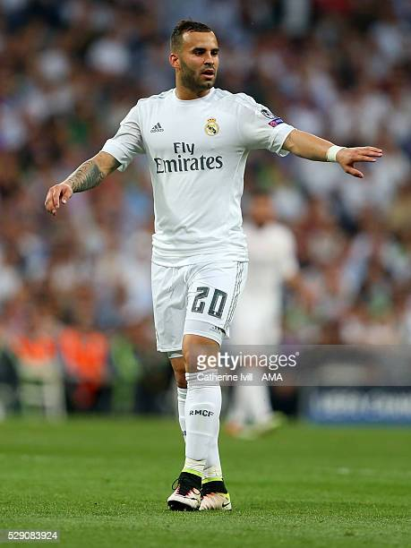 Jese of Real Madrid during the UEFA Champions League Semi Final second leg match between Real Madrid and Manchester City FC at Estadio Santiago...