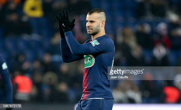 Jese Rodriguez of PSG during the French Cup match between Paris SaintGermain and RC Strasbourg Alsace at Parc des Princes stadium on January 23 2019...