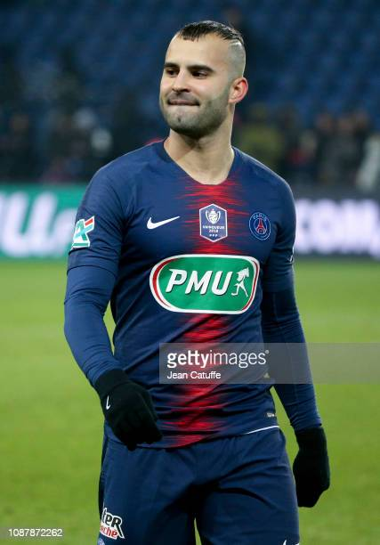 Jese Rodriguez of PSG following the French Cup match between Paris SaintGermain and RC Strasbourg Alsace at Parc des Princes stadium on January 23...