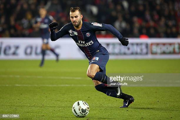 Jese Rodriguez of PSG in action during the French League Cup match between Paris SaintGermain and Lille OSC at Parc des Princes stadium on December...