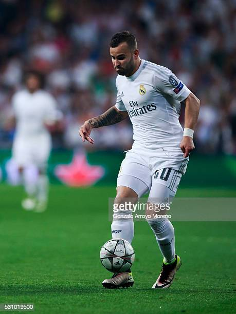 MADRID SPAIN MAY 4 Jese Rodriguez of Real Madrid CF controls the ball during the UEFA Champions League Semi Final second leg match between Real...