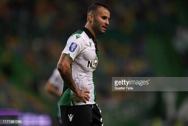 Jese Rodriguez of Sporting CP during the Allianz Cup match between Sporting CP and Rio Ave FC at Estadio Jose Alvalade on September 26 2019 in Lisbon...