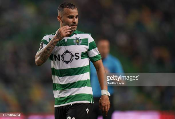 Jese Rodriguez of Sporting CP during the Liga NOS match between Sporting CP and Vitoria SC at Estadio Jose Alvalade on October 27 2019 in Lisbon...