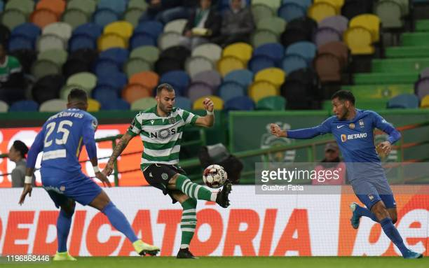 Jese Rodriguez of Sporting CP in action during the Liga NOS match between Sporting CP and CS Maritimo at Estadio Jose Alvalade on January 27 2020 in...