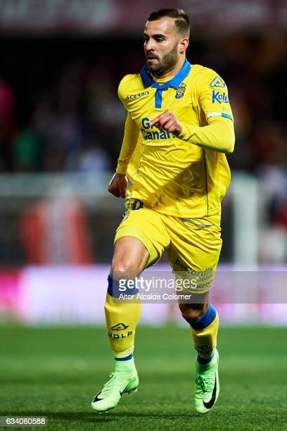 Jese Rodriguez of Union Deportiva Las Palmas in action during the La Liga match between Granada CF vs UD Las Palmas at Estadio Nuevo Los Carmenes on...