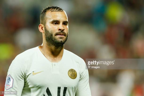Jese Rodriguez Ruiz of Paris Saint Germain looks on during the Ligue 1 match between FC Metz and Paris SaintGermain at Stade SaintSymphorien on...