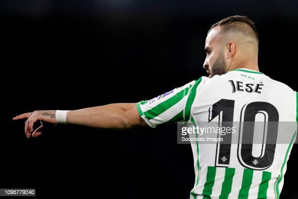 Jese Rodriguez Ruiz of Real Betis during the Spanish Copa del Rey match between Real Betis Sevilla v Valencia at the Estadio Benito Villamarin on...