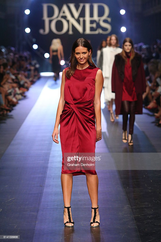 David Jones Opens Melbourne Fashion Festival 2016 - Runway