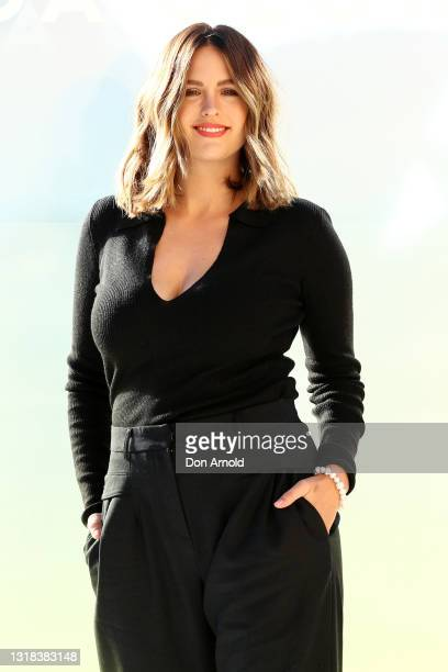 Jesinta Franklin attends the Vide Glow global launch at Sydney Harbour on May 17, 2021 in Sydney, Australia.