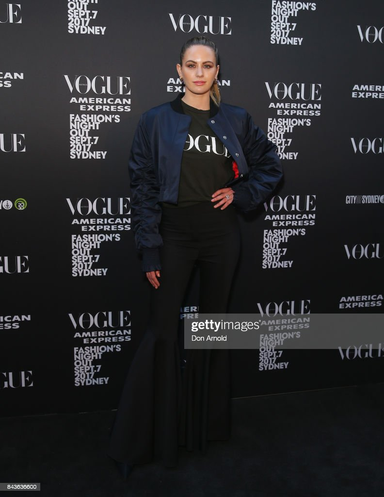 Vogue American Express Fashion's Night Out 2017 - Sydney