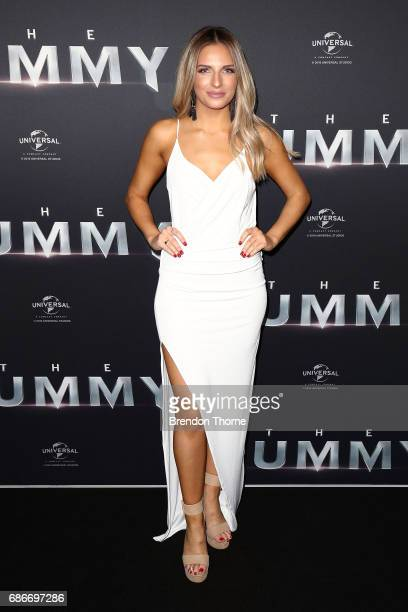 Jesinta Gulisano arrives ahead of The Mummy Australian Premiere at State Theatre on May 22 2017 in Sydney Australia