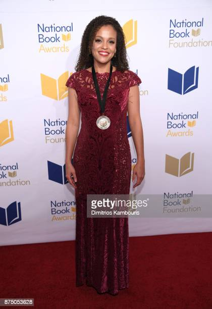 Jesmyn Ward attends the 68th National Book Awards at Cipriani Wall Street on November 15 2017 in New York City