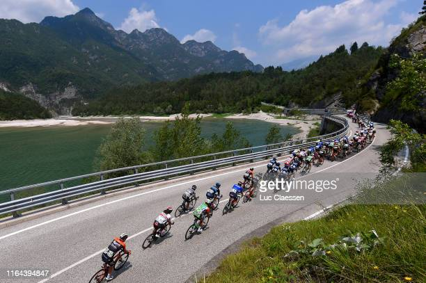 Jesper Asselman of The Netherlands and Team Roompot-Charles / Roberto Ferrari of Italy and UAE Team Emirates / Massimo Orlandi of Italy and Cycling...